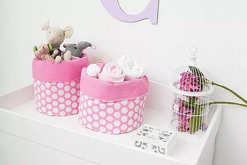 Set de cestos Rosa