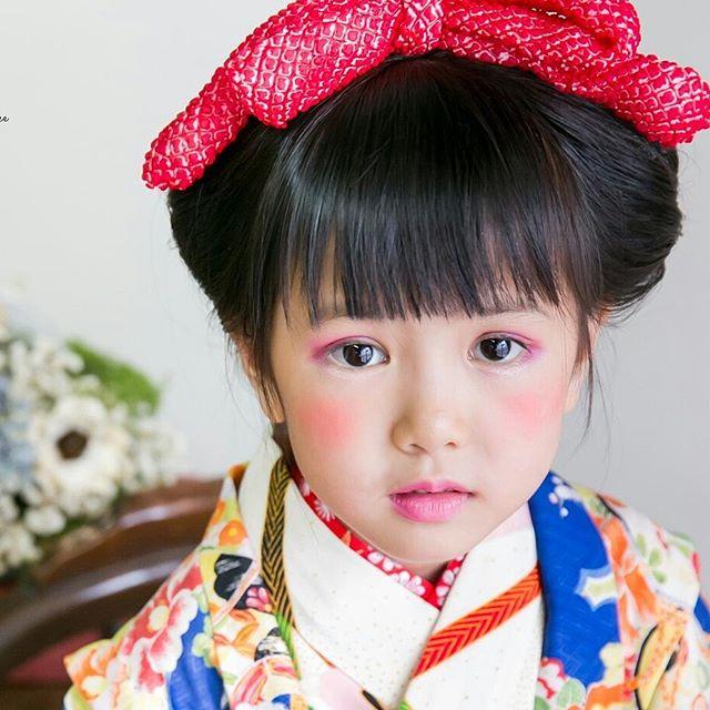 七五三ヘアメイク(_^^_) 秋のお問い合わせはお早めにお願い致します☺__#七五三__photographer★ _hanaphotography_c