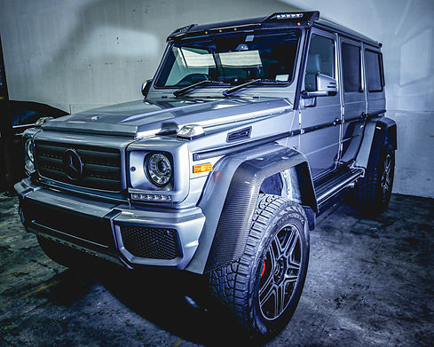 MERCEDES G550 4X4 OFF ROADER by Coppola