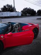Ferrari 458 ready to go Coppola concierg