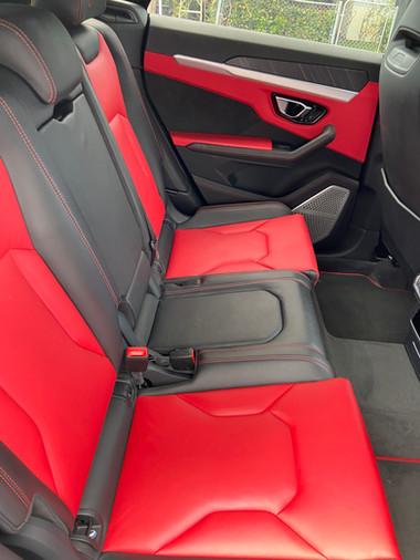 Urus Back Seat