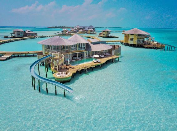 Villa over water