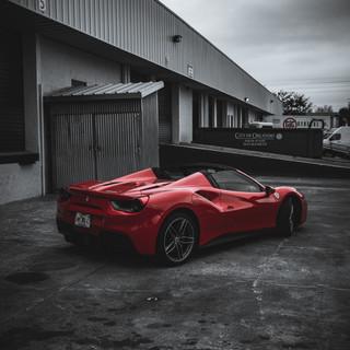 Ferrari 488 Spyder Coppola Conci
