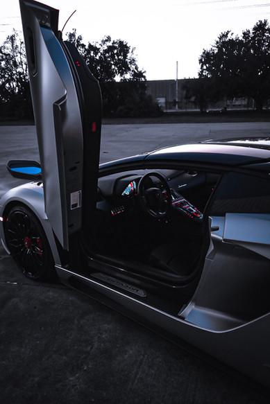 Aventador S Wing door