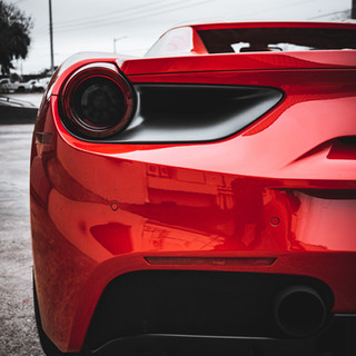 Ferrari 488 Spyder Taillight by Coppola Concierge