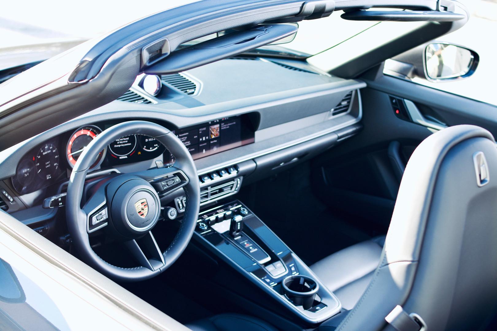 Brand new 2020 Porsche interior by Coppo