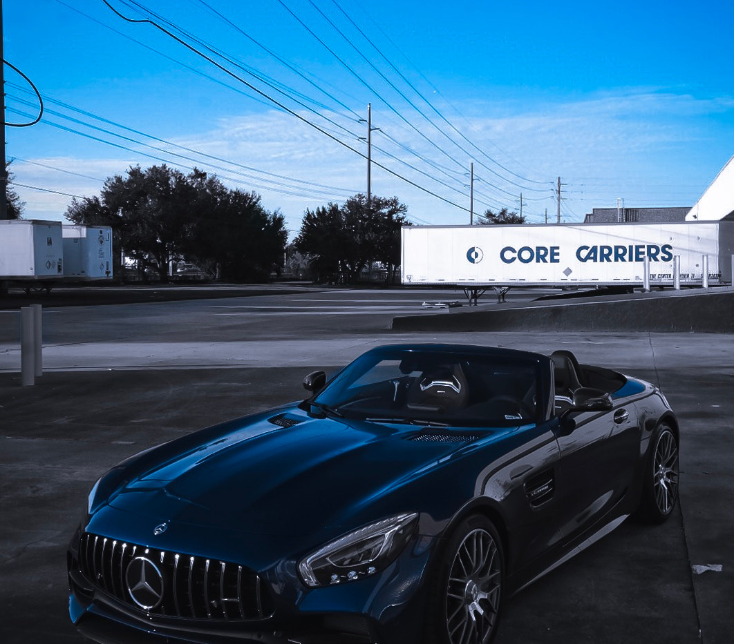 Mercedes AMG GT C Front