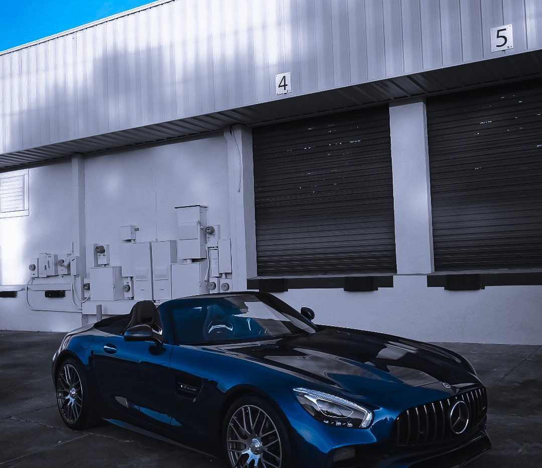 Mercedes AMG GT C by Coppola Concierge