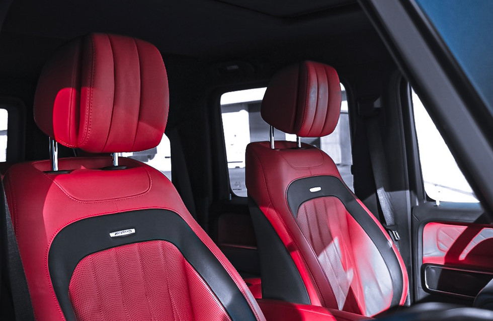 G interior with ventilated seats