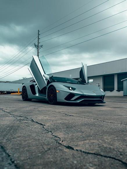 Lamborghini Aventador S wing door