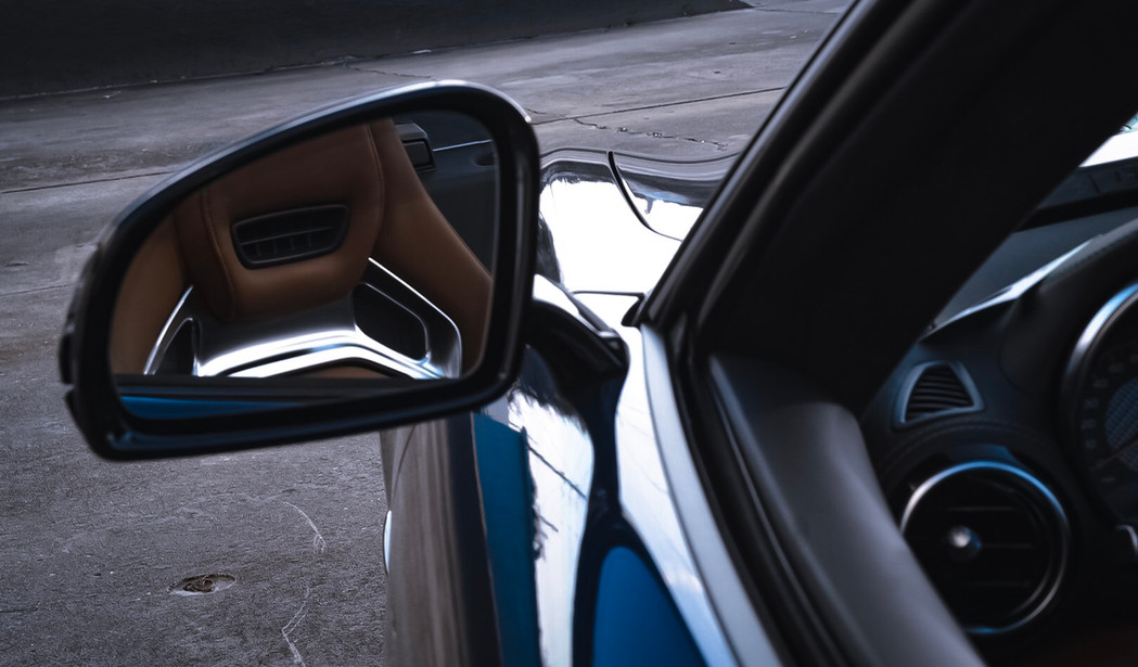 Mercedes AMG GT C mirror