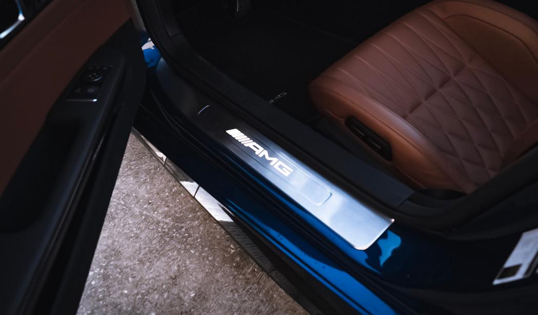 Mercedes AMG GT C door sill