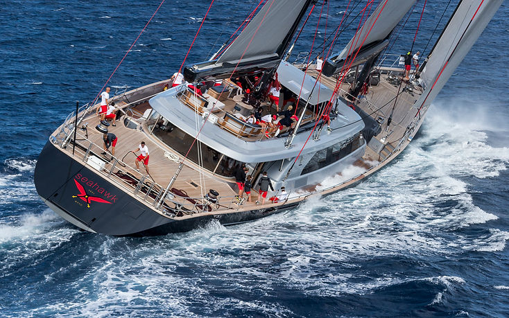 Sail yacht charter in the Caribbean ocea