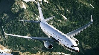 Boeing Business jet charter  BBJ
