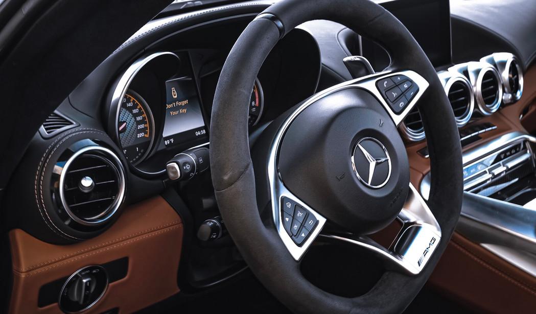Mercedes AMG GT C wheel by Coppola Conci