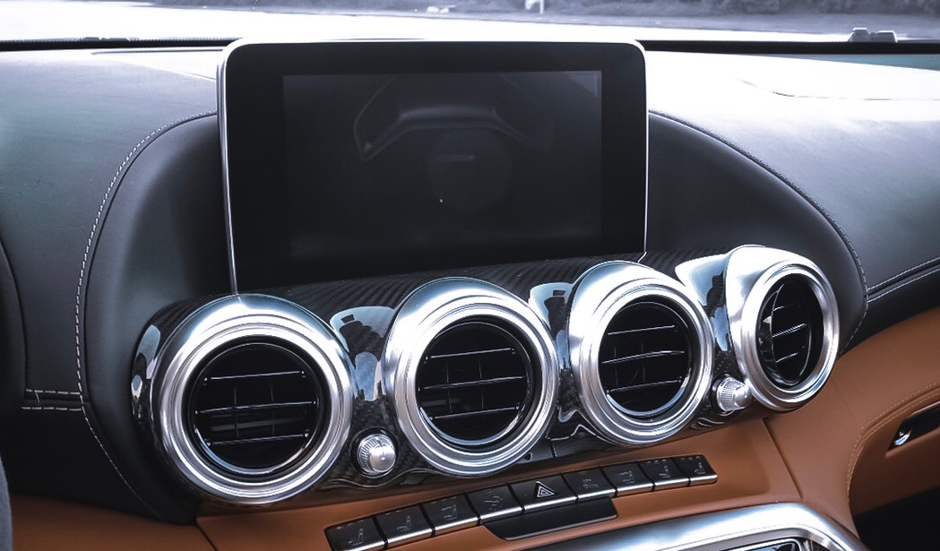 Entertainment system Mercedes GT C by Co