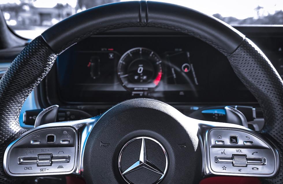 G63 AMG Cockpit steering wheel