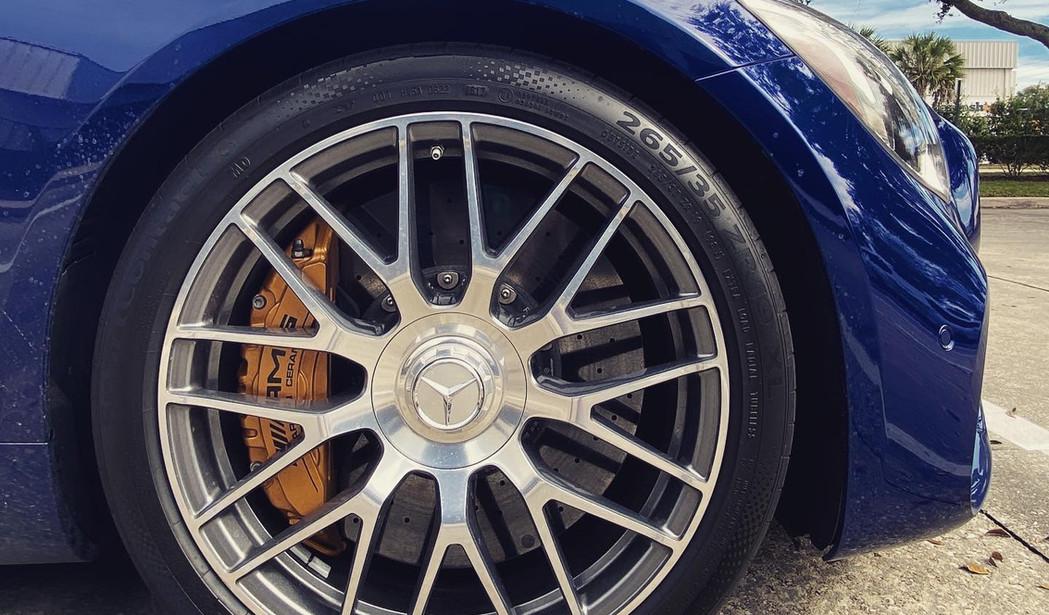 "Mercedes AMG GT C 20"" rim by Coppola Conc"