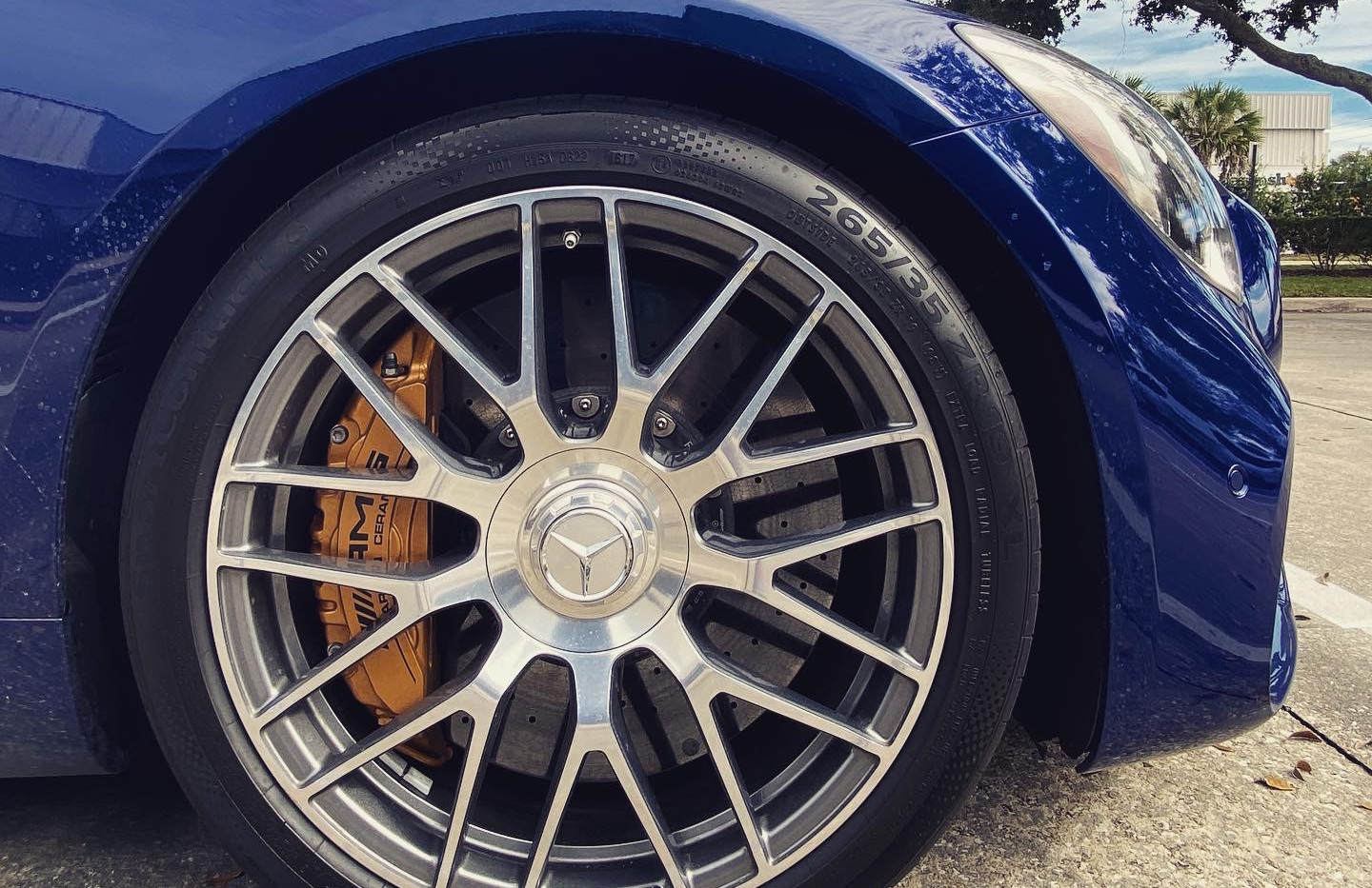 "Mercedes AMG GT C 20"" rim by Coppola Conc"