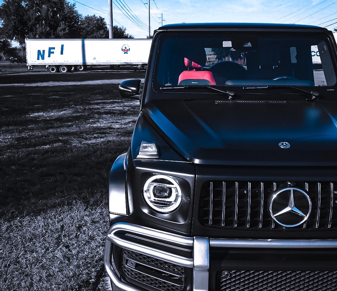 G63 AMG frontal