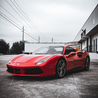 Ferrari 488 Front view by Coppola Concierge