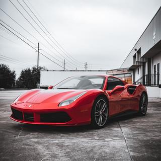 Ferrari 488 Front view by Coppola Concierge