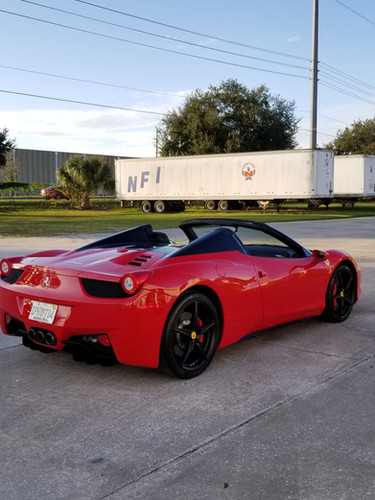 Ferrari 458 Rims by Coppola Concierge