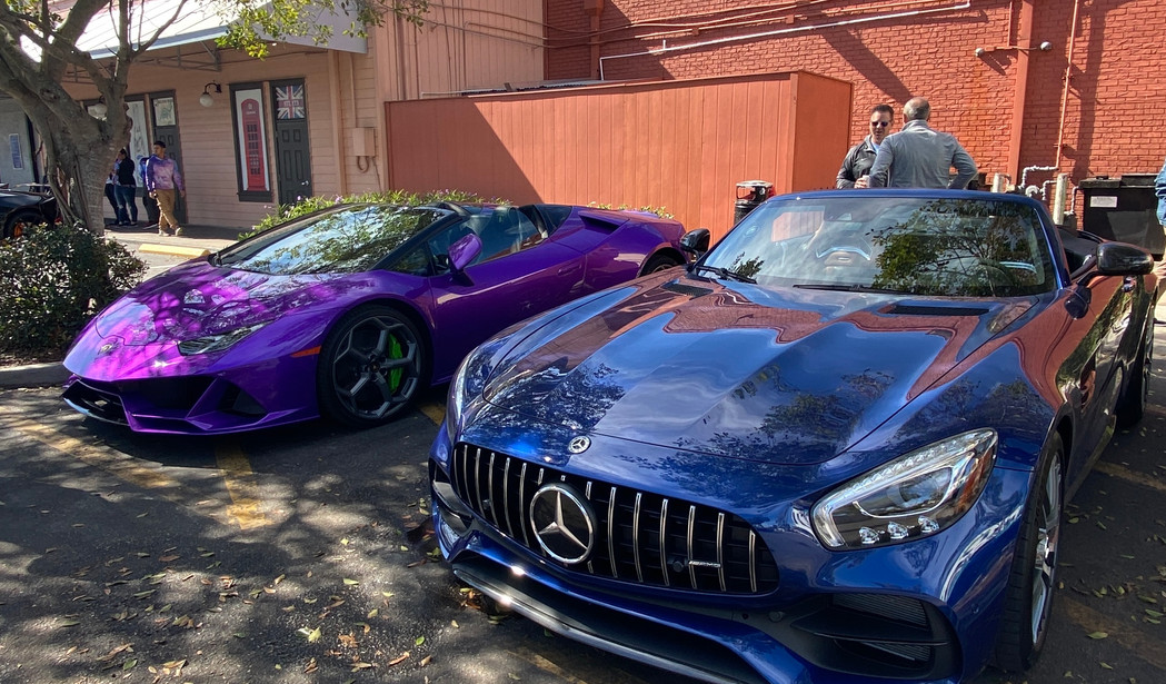 2020 Huracan EVO and AMG GT C for rent b