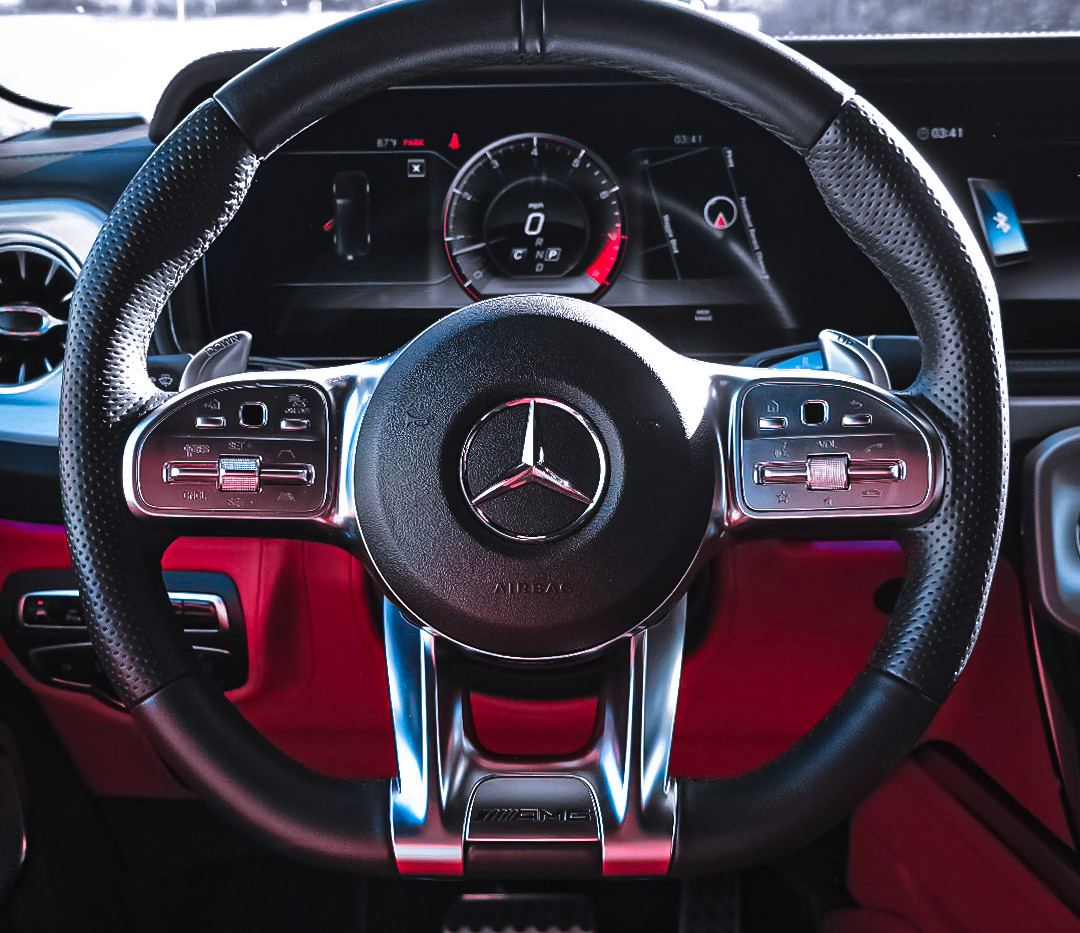 NEW AMG Multi functioning steering wheel