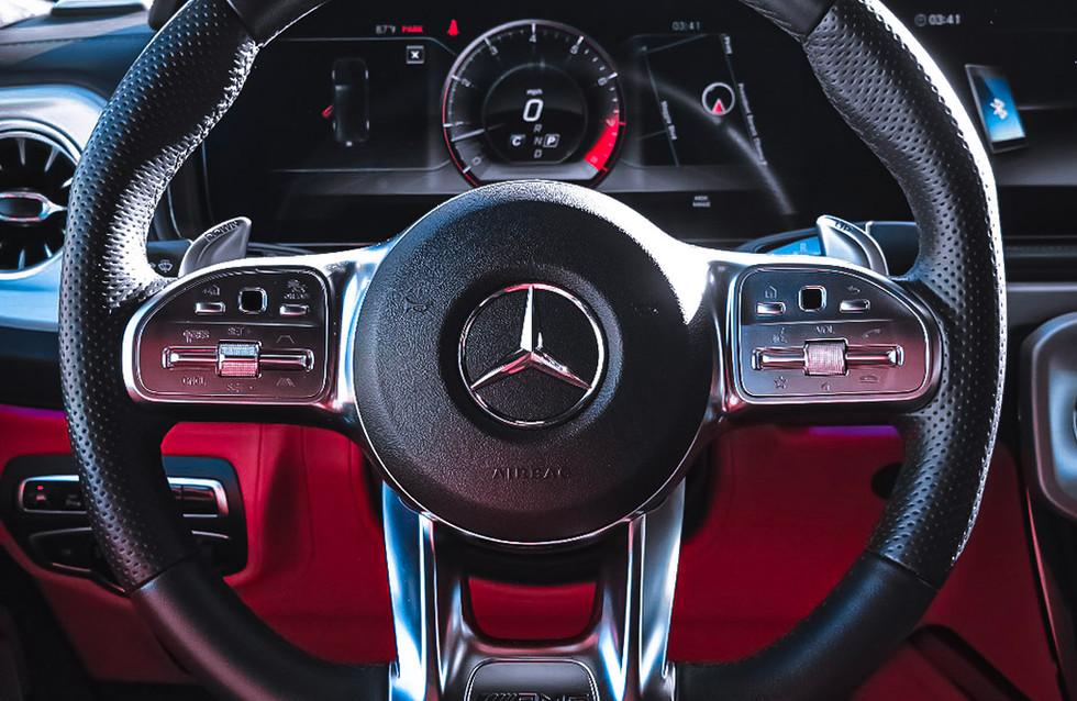 NEW AMG Multi functioning steering wheel