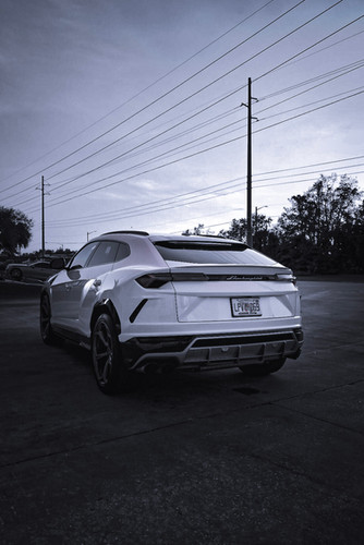 URUS from the back