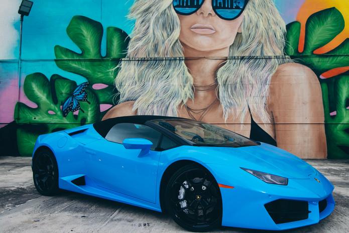 Huracan Spyder Miami
