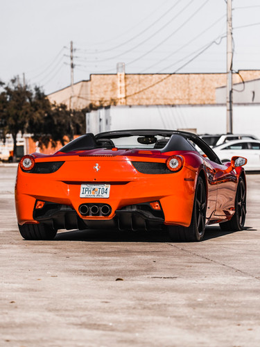 Ferrari 45 for rent Miami| Palm Beach| Orlando