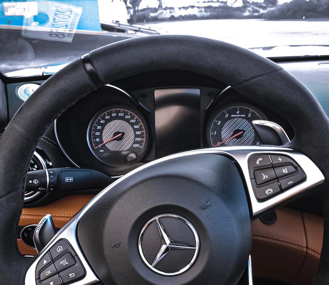 AMG GT C wheel