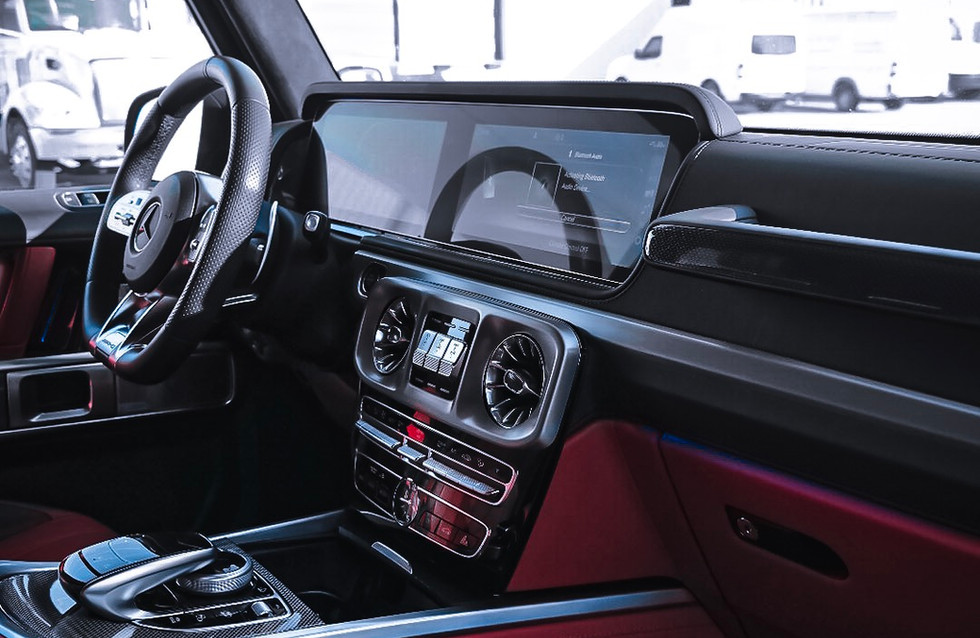 G interior red Nappa leather