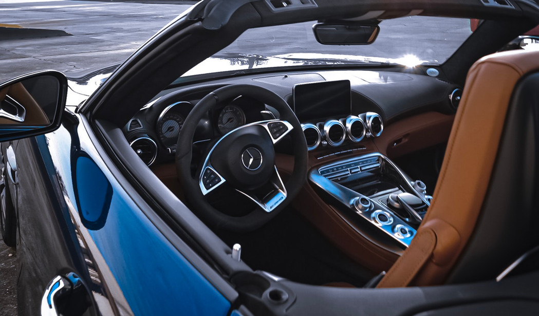 Mercedes AMG GT C drive and go rental by