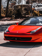 Ferrari 458 Frontal by Coppola Concierge