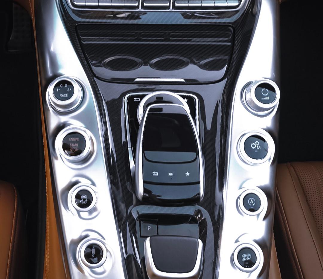 Mercedes AMG GT C cockpit