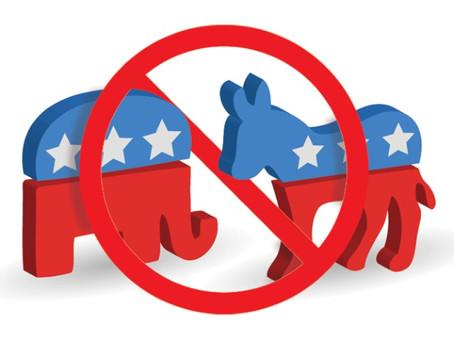 No thank you to partisan politics
