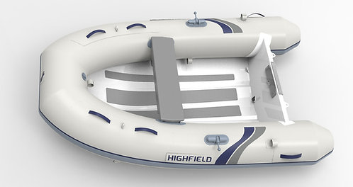 "Highfield UltraLite UL (7'10""to 11'5"" Aluminum Hull Single hull no Bow Locker)"