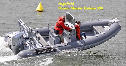 "Highfield - Deluxe Ocean Master (11'6"" to 21'11"" Deluxe Rib)"