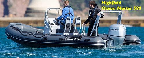 "Highfield - Ocean Master (11'5"" to 19'4"" Basic Deluxe Rib"