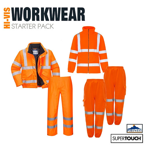 STARTER PACK BUNDLE 1 - PPE Hi Visibility Orange