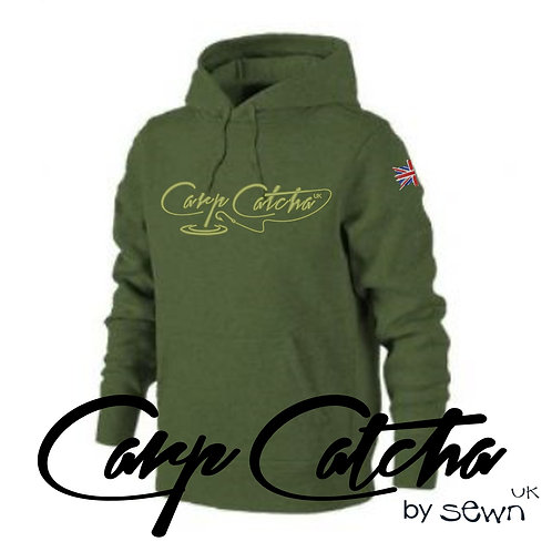 Carp Catcha Embroidered Hoody