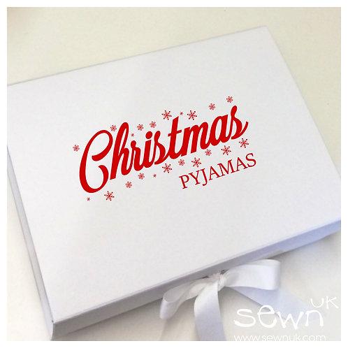Christmas Pyjamas Luxury Gift Box (Pyjamas not included)