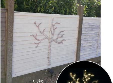 Garden Wire Art - that can also be seen in the Dark!