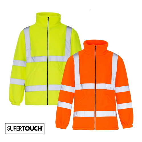 Supertouch - Hi Visibility Fleece (Plain or Personalised)