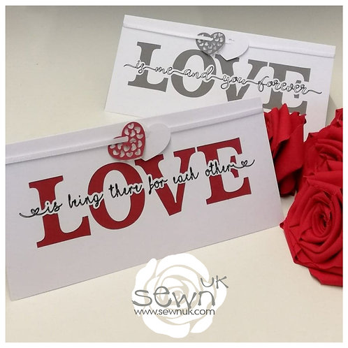 'Love' Card  - Perfect for Valentines Day!