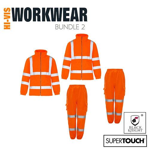 STARTER PACK BUNDLE 2 - PPE Hi Visibility Orange (Plain or Personalised)