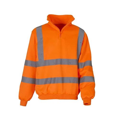 Hi Vis 1/4 Zip Sweatshirt
